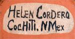 Helen Cordero signature