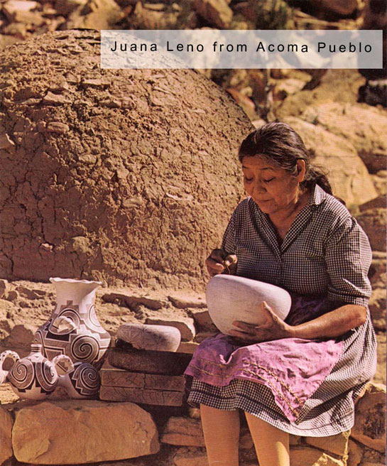Juana Leno was one of the finest potters of the 20th century. Artist Image Source: unknown