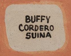 Buffy Cordero Southwest Indian Pottery Figurines Cochiti Pueblo signature
