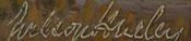 Wilson Hurley (1924 – 2008) signature