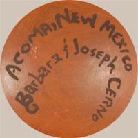 Barbara & Joseph Cerno (1951/1947-present) signatures