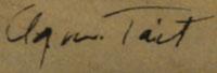 Agnes Tait (1894-1981) signature