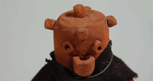 mud head katsina kachina doll zuni pueblo 25807 adobe gallery santa fe