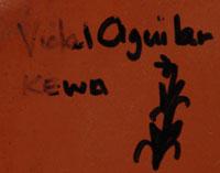 Vidal Aguilar (1972 - ) signature