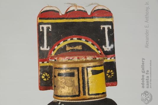 Close up view of this Kachina.