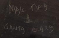 Mae Tapia (1952-) signature