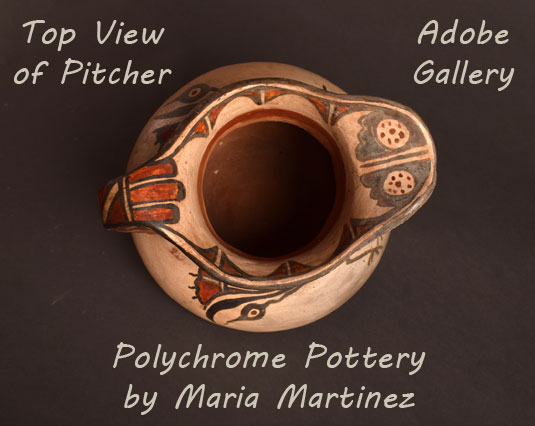 Alternate Top view of the Water Pitcher.
