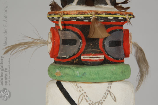 Alternate close up view of this Katsina Doll - face.