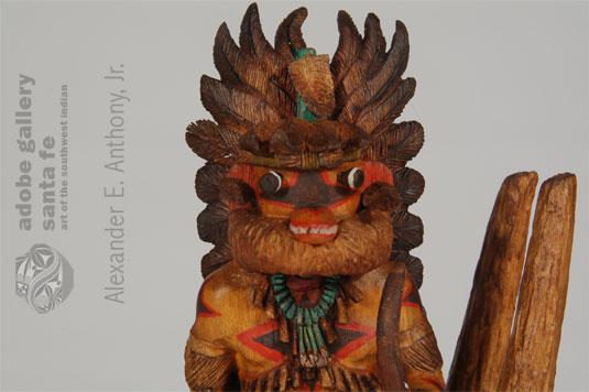 Close up view of this Katsina Doll.