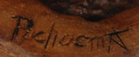 Kevin Pochoema (1965- ) signature