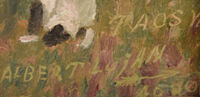 Artist Signature - Albert Lujan (1892-1948) Weasel Arrow