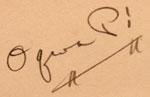 Artist Signature - Abel Sanchez, Oqwa Pi - Kachina Stick