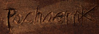 Artist Signature - Kevin Pochoema, Hopi Pueblo Carver