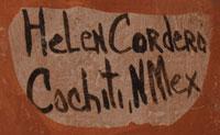 Artist Signature - Helen Cordero, Cochiti Pueblo Potter