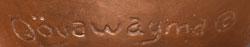 Artist Signature - Al Qöyawayma, Hopi Artist