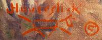 Jake Haverstick (1898-1962) artist signature