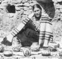 Picture of Agapita Silve Tafoya of Santa Clara Pueblo, New Mexico
