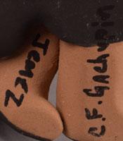Aritst Signature - Caroline Fragua Gachupin, Jemez Pueblo Potter