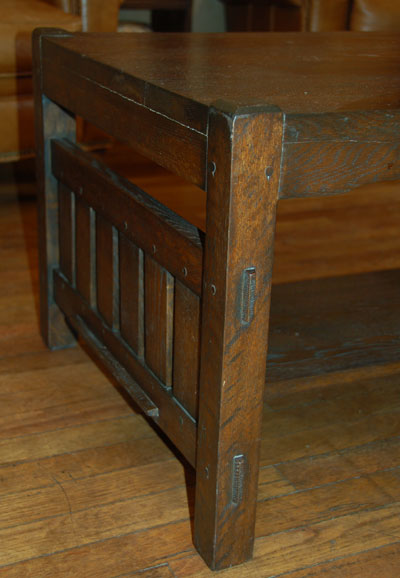 Mission Oak Furniture Arts Crafts Movement Furniture Coffee Table Stickley Roycroft