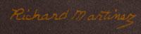 Artist Signature - Richard Martinez, Opa Mu Nu, Native American Painter