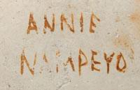 Annie Healing Nampeyo signature