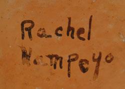 Rachel Namingha Nampeyo (1903-1985) signature