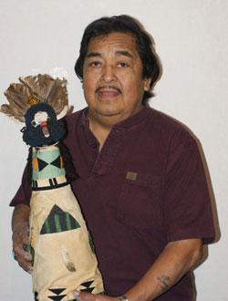 Kachina - Katsina Dolls; Zuni Pueblo; Traditional; Zuni Pueblo Shalako Katsina Doll, circa 1960; Duane Dishta (1946-2011)