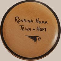 Rondina Huma signature hallmark