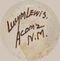 Artist Signature - Lucy Lewis (1898-1992) Acoma Pueblo