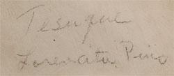 Lorencita Pino signature