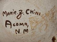 Artist Marie Z. Chino signature