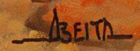 Jim Abeita Fine Art Native American Paintings Paintings Diné Navajo signature
