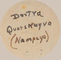Dextra Quotskuyva Nampeyo signature