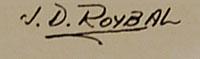 J. D. Roybal signature
