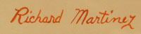 Artist Signature - Richard Martinez (1904-1987) Opa Mu Nu