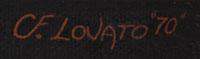 Charles Lovato Fine Art Native American Paintings Painting Kewa Pueblo signature