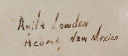 Anita Lowden signature