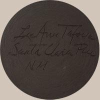 Lu Ann Tafoya Southwest Indian Pottery Contemporary Santa Clara Pueblo signature