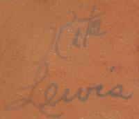 Rita Lewis (1920-1991) signature
