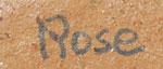 Rose Naranjo Southwest Indian Pottery Contemporary Santa Clara Pueblo signature