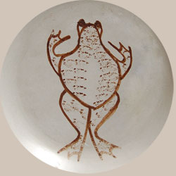 Joy Navasie Frogwoman Southwest Indian Pottery Contemporary Santa Hopi Pueblo signature