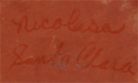 Nicolasa Naranjo (1907-2002) signature