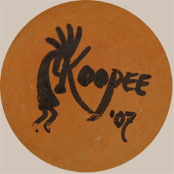 Later Artist Signature - Jacob Myron Koopee (1970-2011) Jake Nampeyo