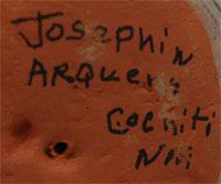 Josephine Arquero (1928- ) signature