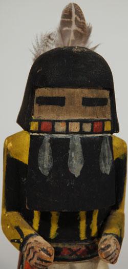 Hopi Angak China Long Hair Katsina Doll Traditional