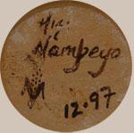 Camille Hisi Nampeyo | Hopi Pueblo | Southwest Indian Pottery | Contemporary | siganture