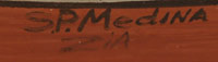 Sofia Pino Medina (1932 - 2010) signature