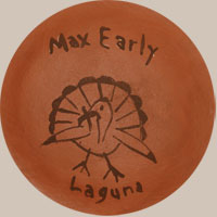 Artist Signature - Max Early, Laguna Pueblo