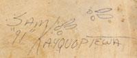 Sam Kayquoptewa | Hopi Pueblo | Traditional | Katsina Dolls | Kachina Dolls | signature