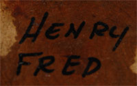 Henry Fred signature